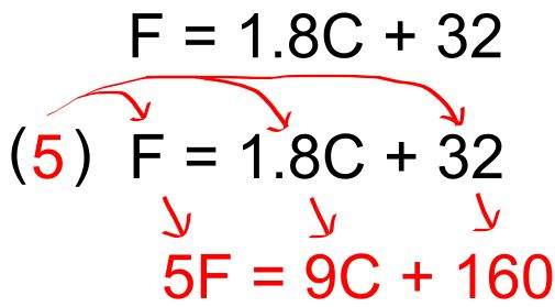 celsius conversion formula