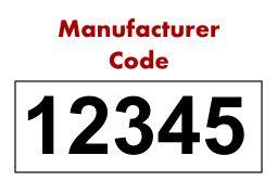 NDC Numbers